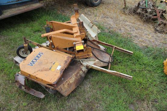 Woods L306 Belly Mower, 6', Brackets for Farmall H
