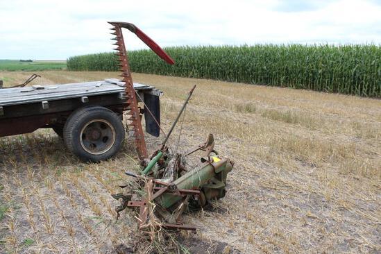 John Deere #5 Sickle Mower, mounting bracket
