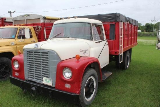 *** 1963 INTL LOADSTAR 1600 SINGLE AXLE TRUCK, 4 & 2 SPEED TRANS,
