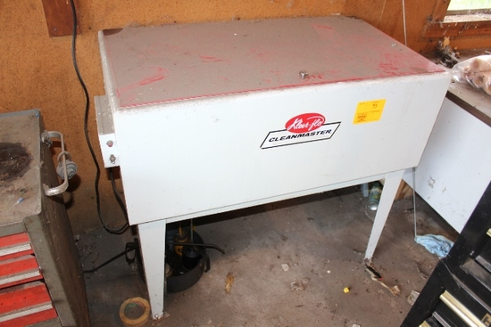 KLEER FLO CLEANMASTER PARTS WASHER