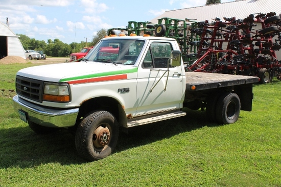 ***  1993 FORD F-350 XT REGULAR CAB 1 TON PICKUP,