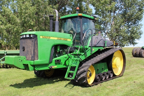 2000 JOHN DEERE 9400 T, 24 SPEED, 5SCV,