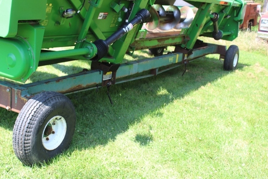 UNVERFERTH HT30 HEAD TRAILER, 7.50-10 TIRES,