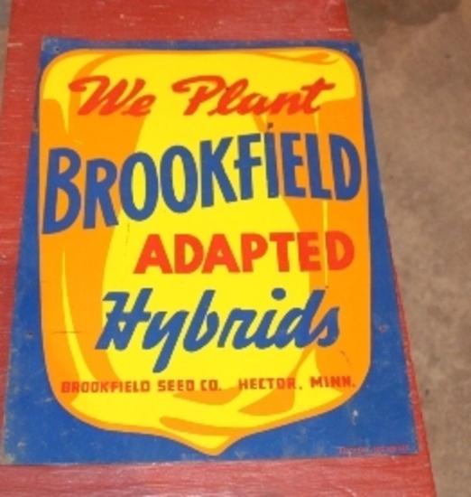 "10"" X 14"" BROOKFIELD HYBRIDS, HECTOR, MN,"