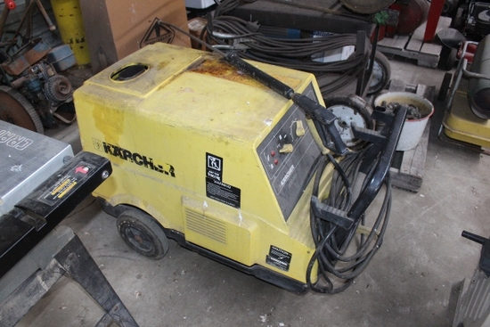 KARCHER HDS 580 PRESSURE WASHER, 220 VOLT