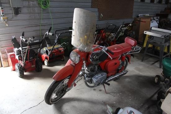 HONDA 300 MOTORCYCLE, 8,127 MILES SHOWING,
