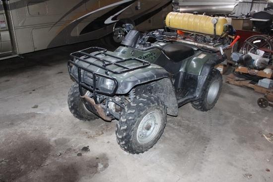 HONDA RANCHER ES ATV, TRX350, 4X4, RACKS,