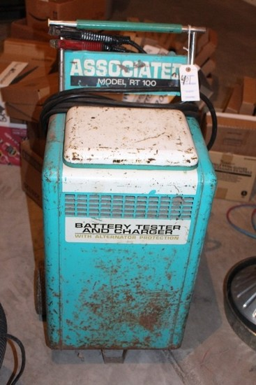 ASSOCIATED MODEL RT100 BATTERY TESTER AND