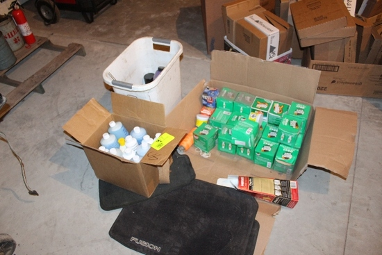 OIL FILTERS, AUTO CLEANING SUPPLIES,