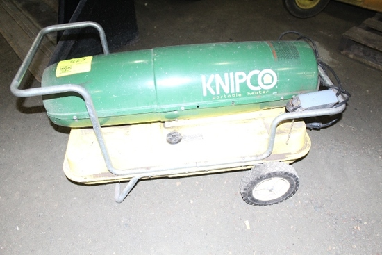 KNIPCO PORTABLE HEATER, NO SHIPPING PICKUP ONLY