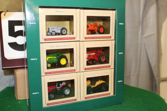 1/64 SIX PIECE TRACTOR SET, 50TH ANNIVERSARY OF