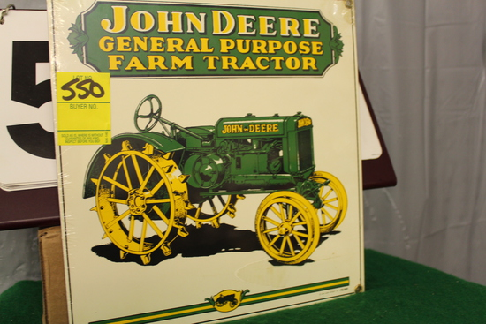 "10"" X 10"" JOHN DEERE GENERAL PURPOSE FARM TRACTOR,"