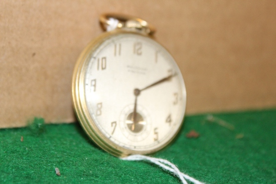 WALTHAM PREMIER POCKET WATCH