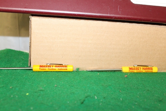 (2) SMALL MASSEY-HARRIS SCREWDRIVERS FROM