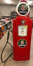 INDIAN WAYNE 70 GAS PUMP, APPROX 1947-1960,