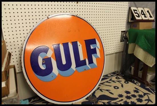 Blaine Larson; Gas Pumps. Signs and Toys Auction