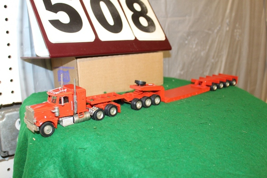 1/50 SEMI LOW BOY IMPLEMENT TRAILER WITH 7 AXLES,