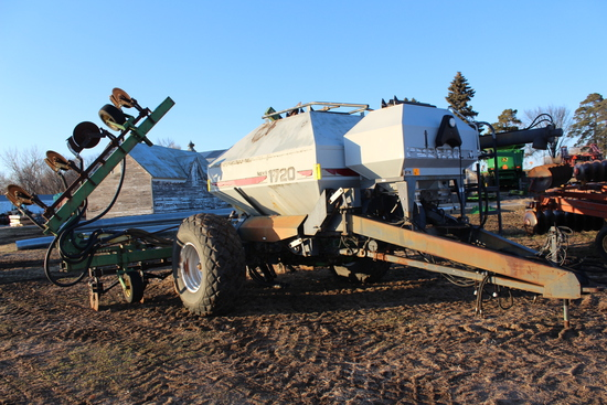 "FLEXICOIL 1720 FERT CART, WITH 16R30"" COULTER BAR,"