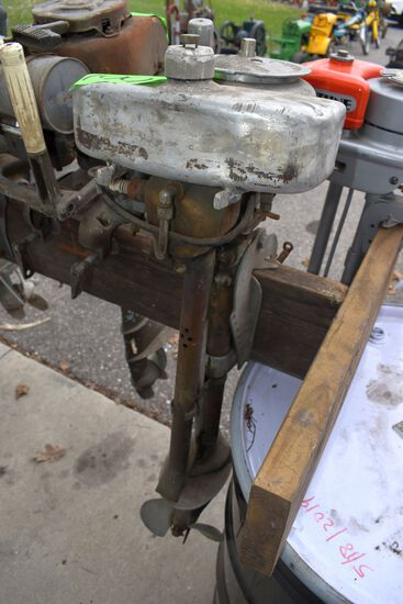 Neptune Boat Motor, Model 2A38, SN:1C450,