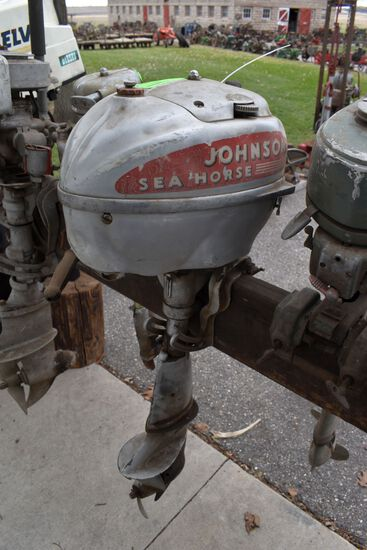 Johnson Sea Horse Boat Motor,