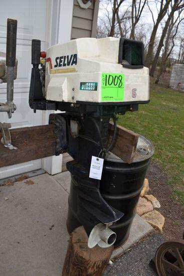 Selva Diesel Boat Motor, No.6,