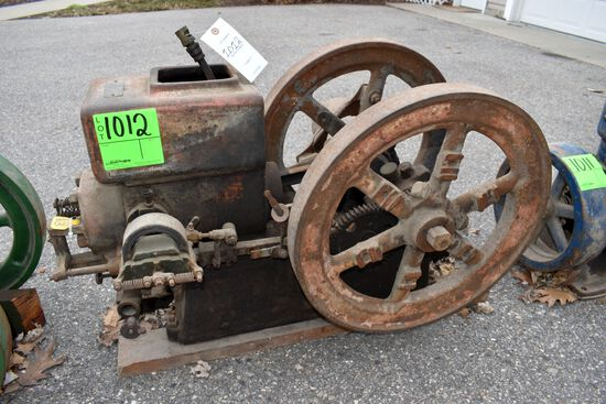 Economy 2.5Hp Gas Engine, WEB ignition Everyday, SN:81084,