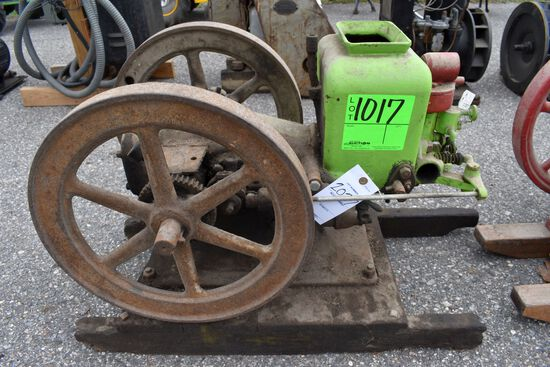 Mogle 1HP Gas Engine, SN:W24634, IGN Mag Brush Paint