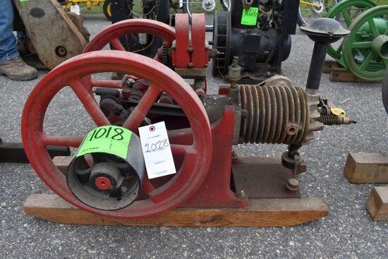 Associated Chore Boy Gas Engine, SN:33155, Air Cooled, Older Restoration, With Mag And Oiler