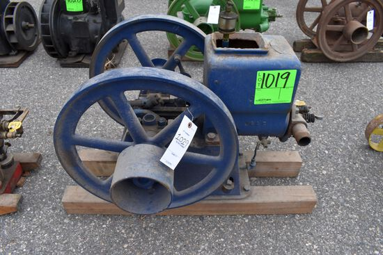 Downes Special 1 3/4HP Gas Engine, SN:33634, Webster Tri Puller Mag, Oiler,
