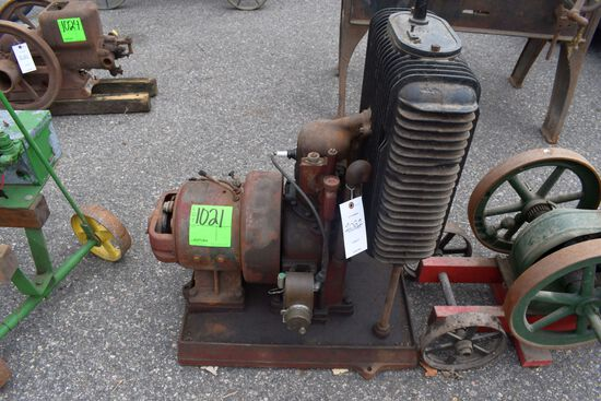 Alamo Unit System Generator, Vertical Gas Engine, Engine NO.4820,