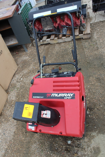 Murray Snowthrower , Model 621