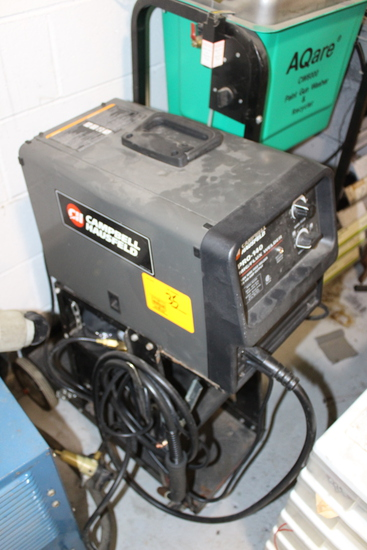 Campbell Hausfeld Pro-140 Mig Flux Welder, 110V On Cart, .035 Wire