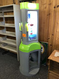 Green & Grey Display Cooler