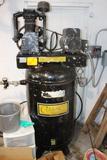 Classic 80 Gallon Upright Air Compressor, 2 Stage, 220v, Single Phase, 4/8/