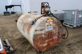 500 Gallon Gas Barrel