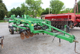 """JD 2700 5 Shank Ripper, 10"""" Sweeps with Cover Boards, Disc Leveler, S/N# N0"""