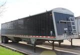 """2012 43' Wilson Commander Model BWH511CB Hopper Grain Trailer, 72"""" Sides, S"""