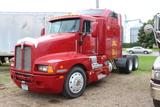 1994 Kenworth T-600 Semi Tractor, Detroit Diesel, Super 10 Trans, Air Ride,