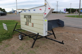4' x 8' Letter Sign On 2 Wheel Trailer, With Lettering