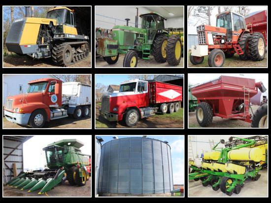 FARM EQUIPMENT RETIREMENT FOR DALE & MARLENE BERG