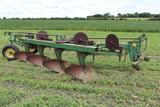 "John Deere F 1350-1450 4-18"" Semi Int Plow, (4) Coulters"