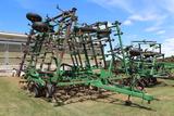 John Deere 980 43.5' Field Cultivator, 5 Fold, 3 Bar Harrow,