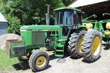 1979 John Deere 4240 Tractor, QR, 3Hyd, PB, 3Pt, K&M Step, R134a A/C, Gear