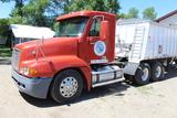 2001 Freightliner Century Day Cab Semi Tractor, Detroit 60 Series 12.7L, Lo