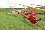"""Buhler Farm King 10""""x Approx 86' Auger, Hyd Walking Swing Hopper, 540 PTO"""