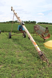"""Feteral 7""""x34' Auger, 16 HP B&S"""