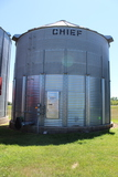 """Chief 27'10"""" Dia, Approx 11,000 Bu, Full Floor, 8"""" Sump with Aux, Roof Vent"""