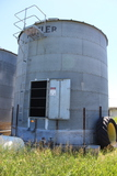 """Butler 18' Dia, 18' Sidewall, Approx 3500 Bu, Full Floor, 6"""" Sump with Aux,"""