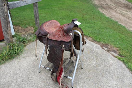 """Circle Y 15 1/2"""" Saddle"""