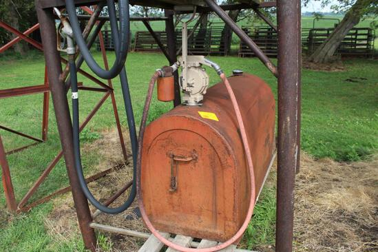 100 Gallon Diesel Pickup Fuel Tank With Hand Pump